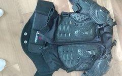Herobiker Hartschalen Protektorenjacke einmal getragen