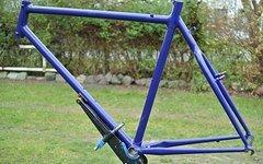 Dave Lloyd MTB Rahmen Stahlrahmen Maßrahmen fillet brazed füllverlötet Breezer