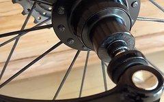 Xentis Squad 5.8 Carbon Laufradsatz 16/24 f. Schlauchreifen