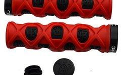 Ritchey Pro TG7 True Grips Grid Lock On Lenkergriffe Griffe schwarz-rot