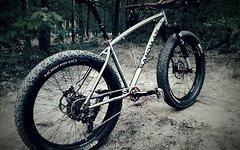 Sandman Hoggar Titanium Size Med Custom Bike