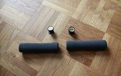 Esi Fit XC Grips Griffe ergonomisch super leicht 67g/Paar mit Lenkerstopfen inkl. Versand