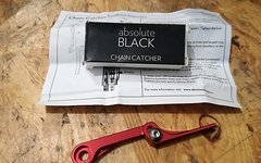 Absolute Black Chaincatcher, rot, NEU
