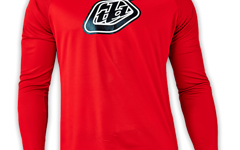 Troy Lee Designs Moto Jersey Red Gr. L
