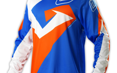 Troy Lee Designs GP AIR JERSEY VERSE BLUE/ORANGE Gr. XXL NEU!