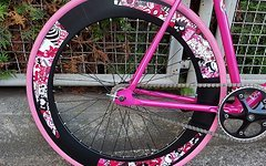 Greenway Fixie Singlespeed Pink Monster Cannondale Supacaz Cinelli