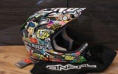 O'Neal Backflip EVO Pin-Up Fullface Helm