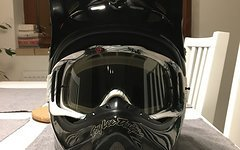 Troy Lee Designs DH fullface Helm Troy Lee Designs D2 Carbon