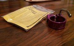 Tune Würger 31,8 Sattelklemme Lila / Purple