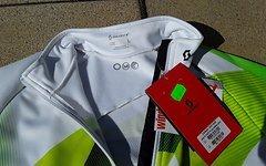 """Scott AS RC Pro plus Jacket, white/lime green """"L"""""""