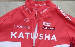 Katusha Team Issued KATUSHA Canyon Sram Winter Thermo Jacket Jacke Jersey Trikot NEU