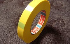 Tesa 4289 Tesa-Strapping Tape 4289,19mm(66 Meter) NoTubes Yellow-Tape, Felgenband