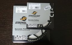 Stronglight CT2 36/52T, BCD110 chainring set