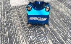 Straitline Pinch Stem 31.8 x 50mm Blue