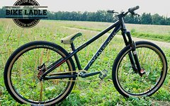 Green Bicycles Scope Custom Dirt/Street/Pumptrack Bike Rock Shox Yari DJ ,Octane One,Spank,Sram DB,NS Quantum