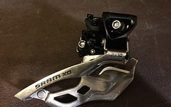 SRAM X0 Umwerfer 2x10 High Clamp 34,9 mm