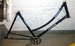 Batavus Damen - Nostalgie Hollandrad Rahmen + Gabel und Zubehör -  28 Stahl gemufft