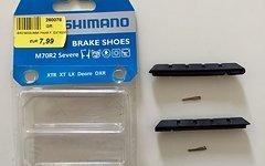Shimano XTR XT LX Deore Bremsschuhe Brake Shoes, M70R2, NEU