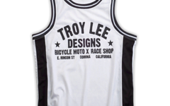 Troy Lee Designs TORQUE TANK WHITE/BLACK Gr. L