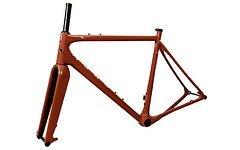 Open Cycles Classic U.P. Gravel Plus Carbon Rahmen / Braun