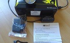 Solarstorm X6  Fahrradlampe