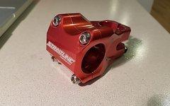 Straitline Vorbau 50mm rot - wie neu