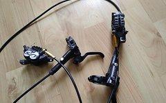 Shimano Saint M820 BR / BL vo & hi SET inkl. Scheiben