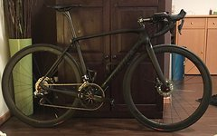 Specialized S-Works Tarmac Disc Module Rahmenset - satin/gloss carbon clean