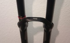 Rock Shox Pike RC 2P 160/130mm 650B tapered 15x100 schwarz matt