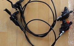 Shimano SLX 7000 Set mit 180/160mm Scheiben