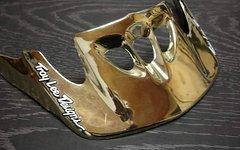 TroyLeeDesigns Helmschild gold NEU