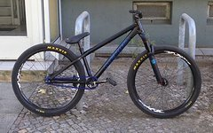Merida Hardy Pro Team Custom Black 26 Zoll Dirt Rahmen 1,9kg TAUSCH NS Bike