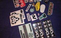 Sticker Aufkleber, auch einzeln