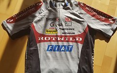 Protective Rotwild Bike Trikot Shirt MTB Rennrad Kurzarm GR L