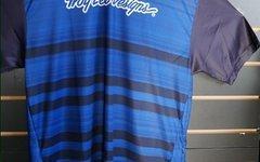 Troy Lee Designs Skyline Jersey Black/Blue L SALE NEU UVP 69,90€