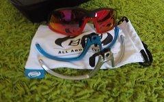 BBB Sonnenbrille mit 4 Gestellen und 4 Gläsern, wie neu