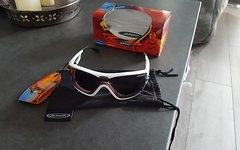 Sportbrille Alpina Swing 62 DLQ weiß Quattroflex/Doubleflex