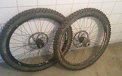 """Atomlab, Tattoo, Dt Swiss Mountainbike Laufradsatz 26"""", Guter Zustand, Dirty Dan Downhill"""