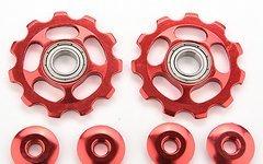 Schaltröllchen Schaltwerkrädchen 11 T Shimano sram Jockey Wheels MTB roten