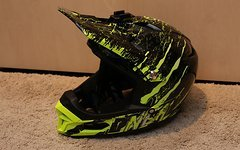 O'Neal Fury RL DH Fullface Helm mit GoPro Halterung *NEU*