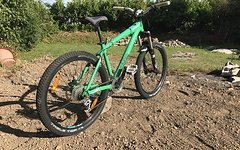 Giant Brass Freeride Hardtail mit Fox 36 Talas