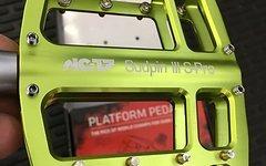 NC-17 Sudpin III S-Pro Pedal grün -NEU!-