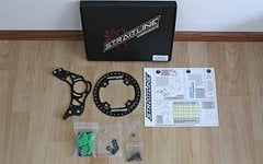 Straitline Silent Guide Black ISCG03 34-36T