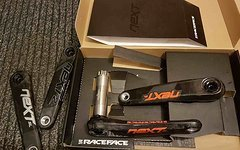 "Race Face NextSL G4, 175mm, Sondermodell ""FoxLogo orange"", Neu!"