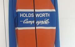 Holdsworth Campagnolo 100% Merino Shirt, Jacke Retro, Vintage Neu Gr. L