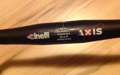 Cinelli Axis Rennradlenker, 44cm, schwarz, 31,8