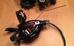 SRAM X01 11-fach Schaltwerk + Trigger Set