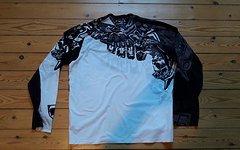 Sugoi Freeride Long Sleeve Gr. L schwarz/weiß