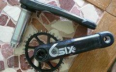 Race Face SIXc Carbon - 68/73mm/175 lang - 32er Gabaruk Oval