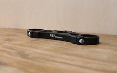 RTF Custom CNC Krone für Boxxer (35mm Rohre) *schwarz eloxiert*